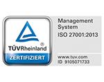 TÜV Rheinland - das Sicherheits Zertifikat